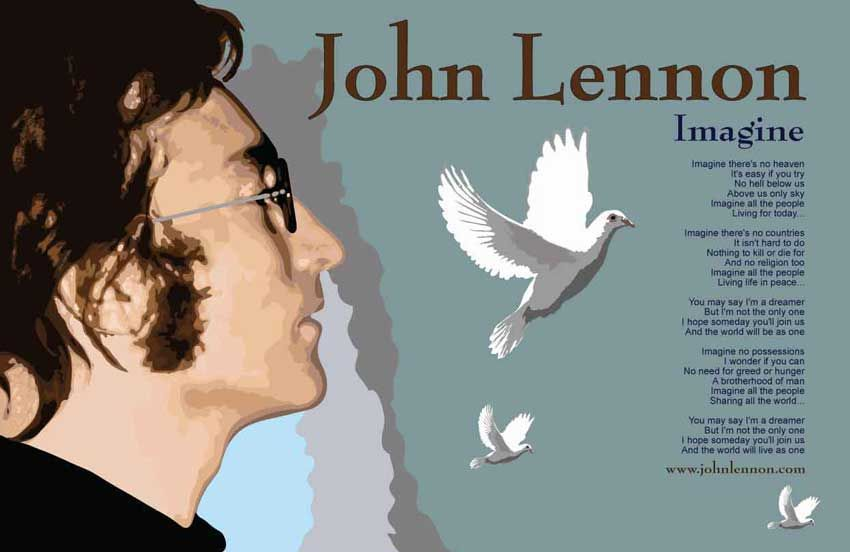john lennon imagine utopia